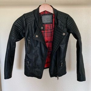Other - Big girls leather jacket